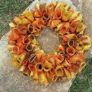 New Handcrafted Fall🌻🌼🌻 Autumn Wreath